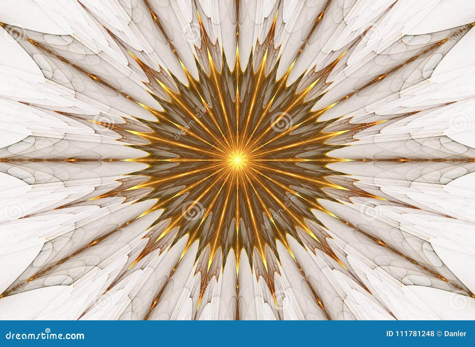 Fractal sun fantasy