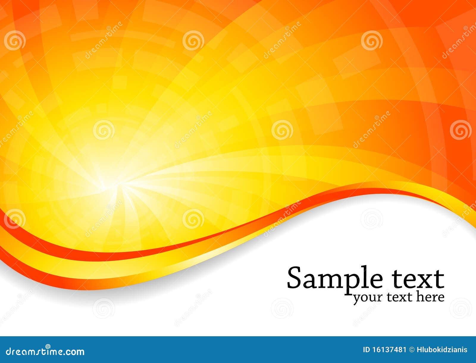 bright background in orange color stock image