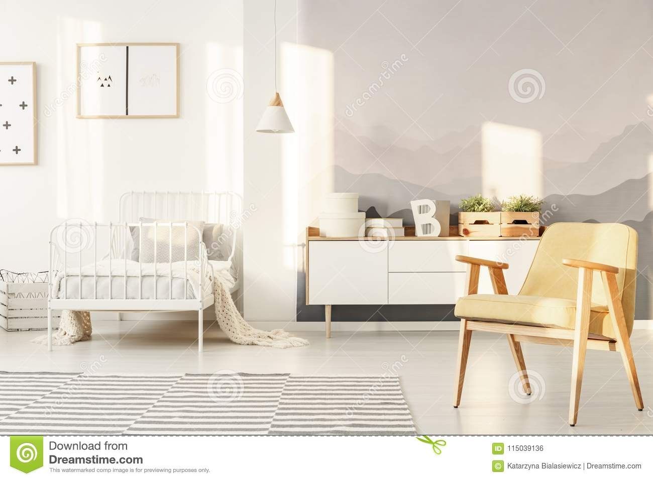 Download Wallpaper Mountain Bedroom - bright-bedroom-interior-bright-bedroom-interior-children-mountain-wallpaper-white-cupboard-decor-yellow-armchair-115039136  Graphic_619744.jpg