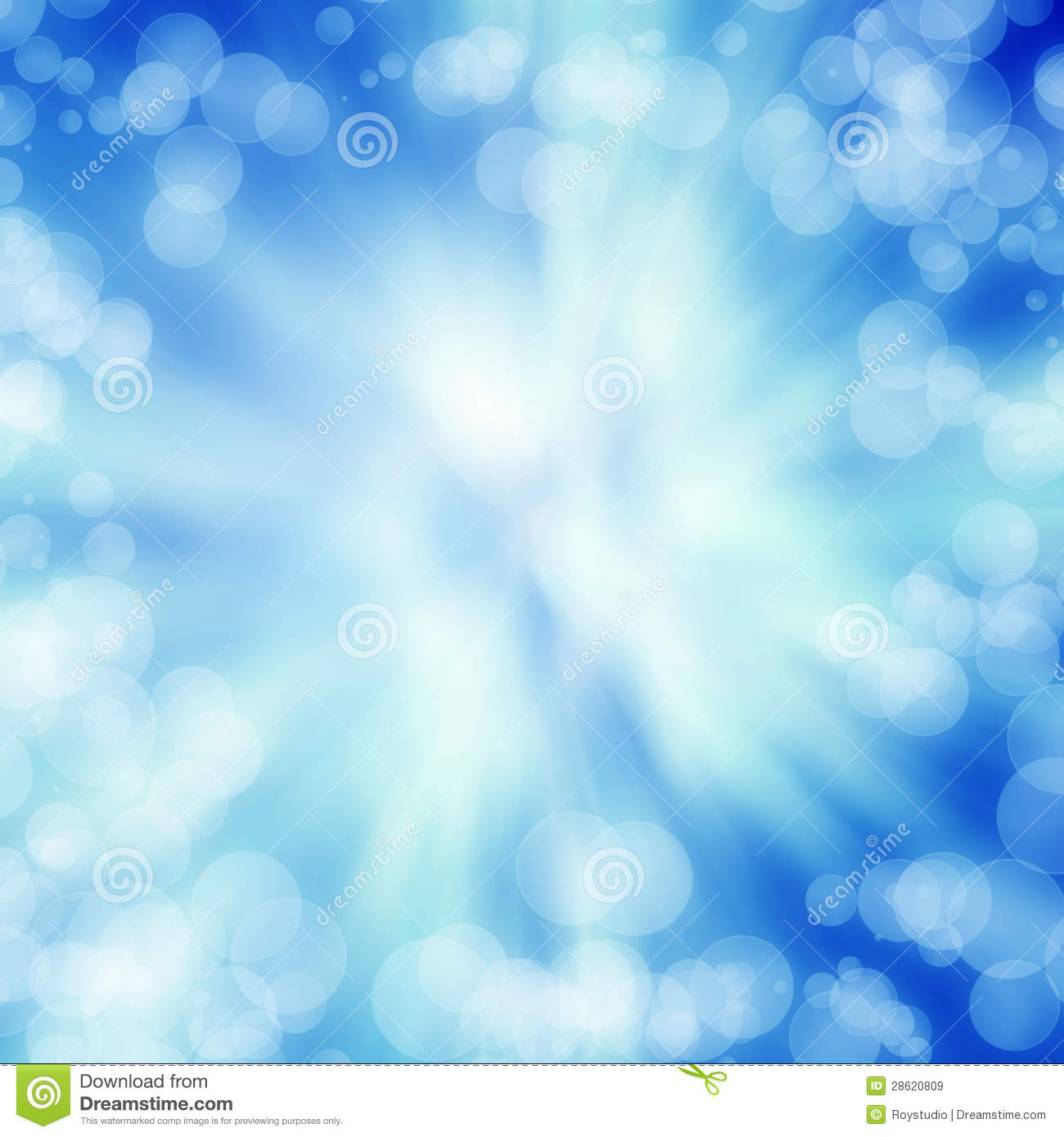 Bright Blue Abstract Backgrond Texture Royalty Free Stock