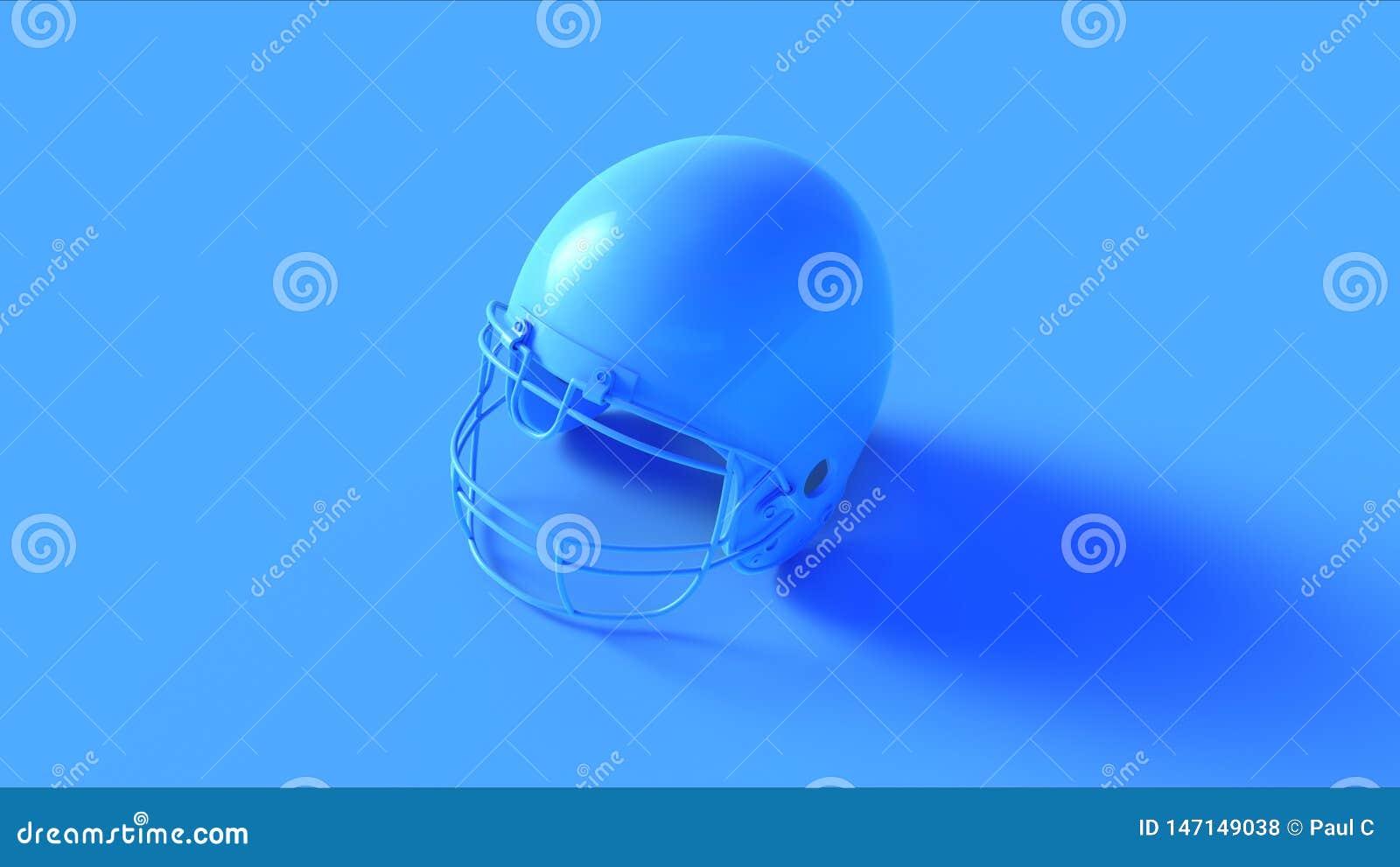 Bright Blue Helmet