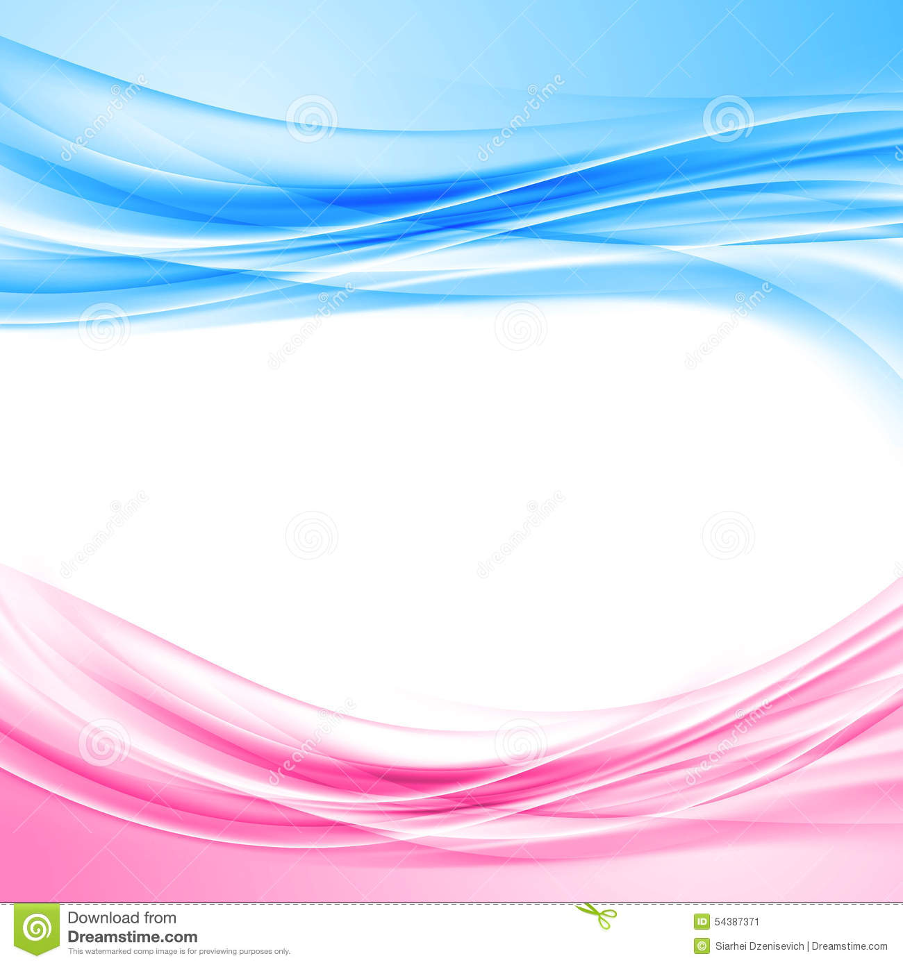 blue and pink border abstract background wave pattern layout template ...