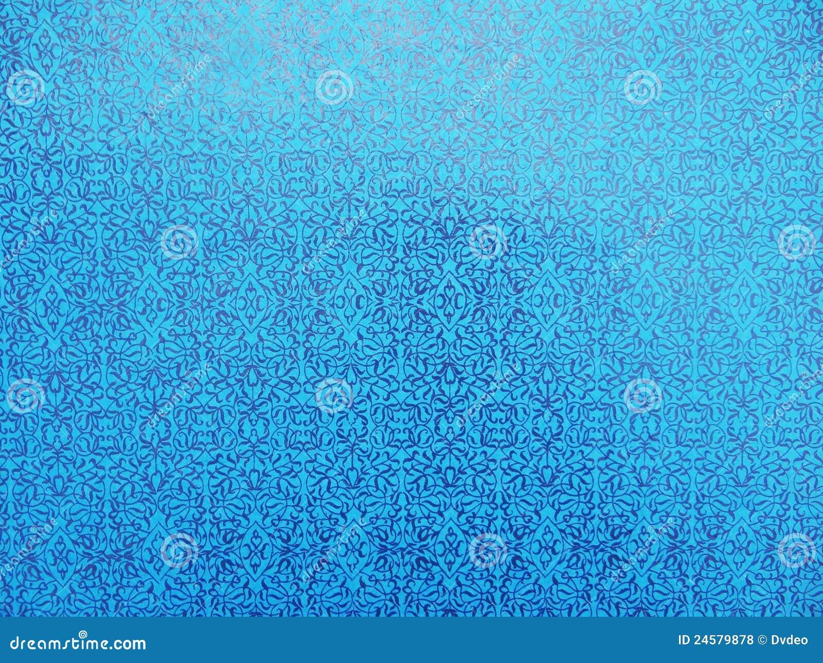 Bright Blue Wallpaper Stock Illustration Of Current