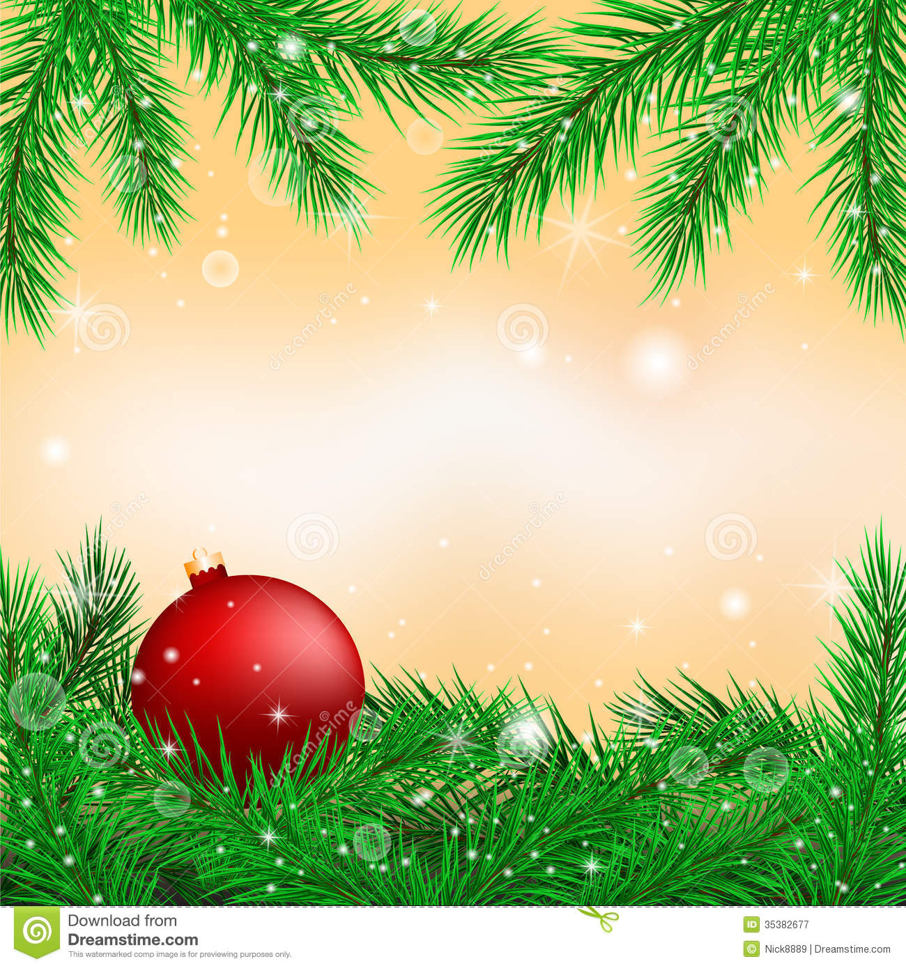 Christmas Graphics Free.Bright Christmas Background Stock Vector Illustration Of
