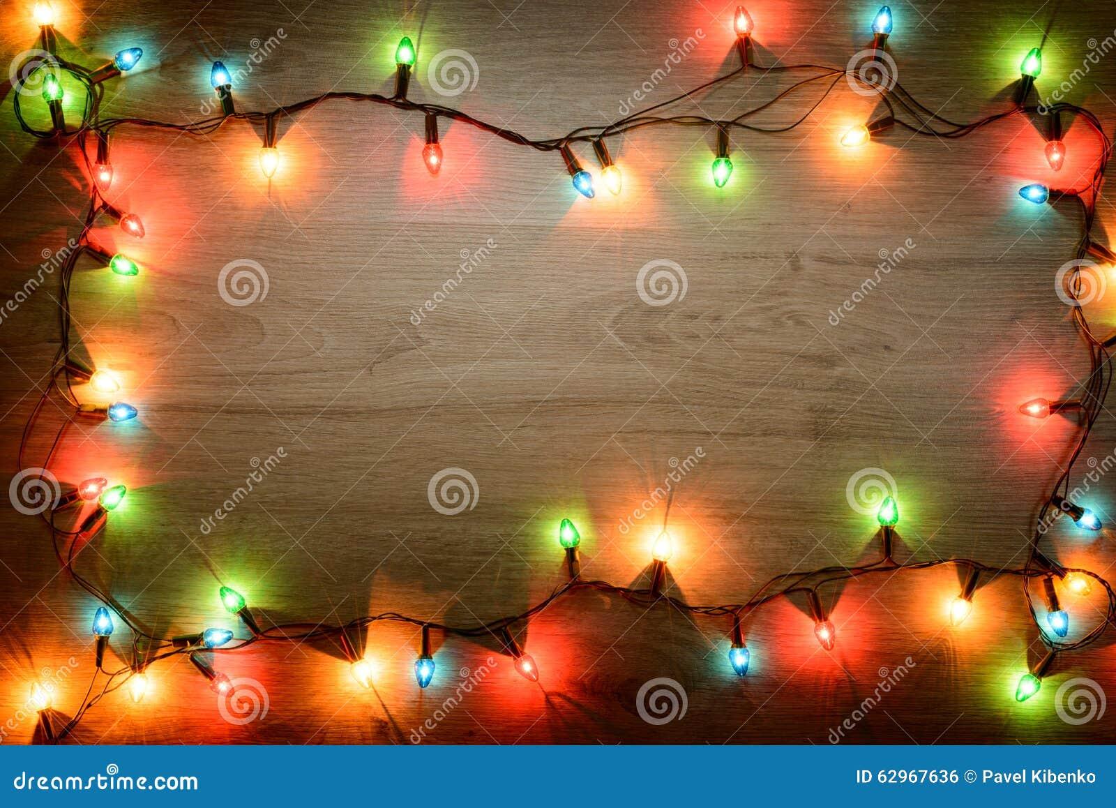 bright christmas garland