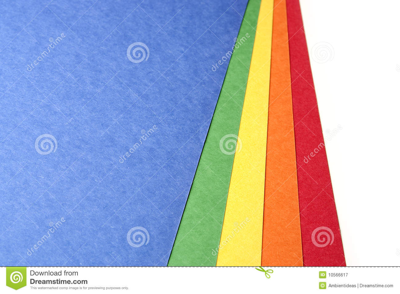 Bright color craft paper stock image image of handmade for Colour paper craft