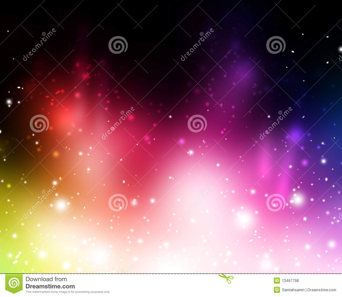 bright colorful abstract in vivid beautiful lights royalty free