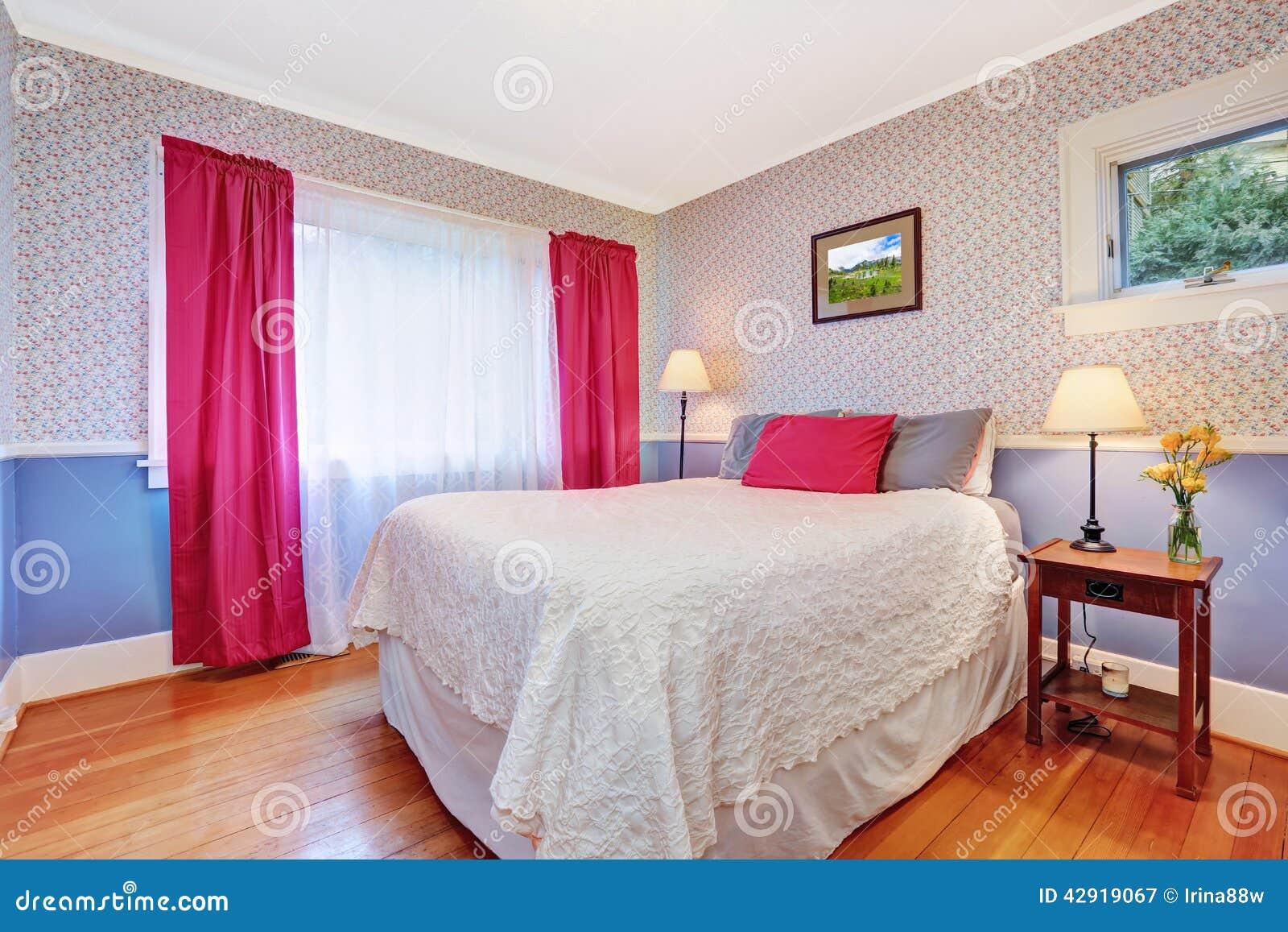 bright colorful bedroom interior stock photo image 42919067