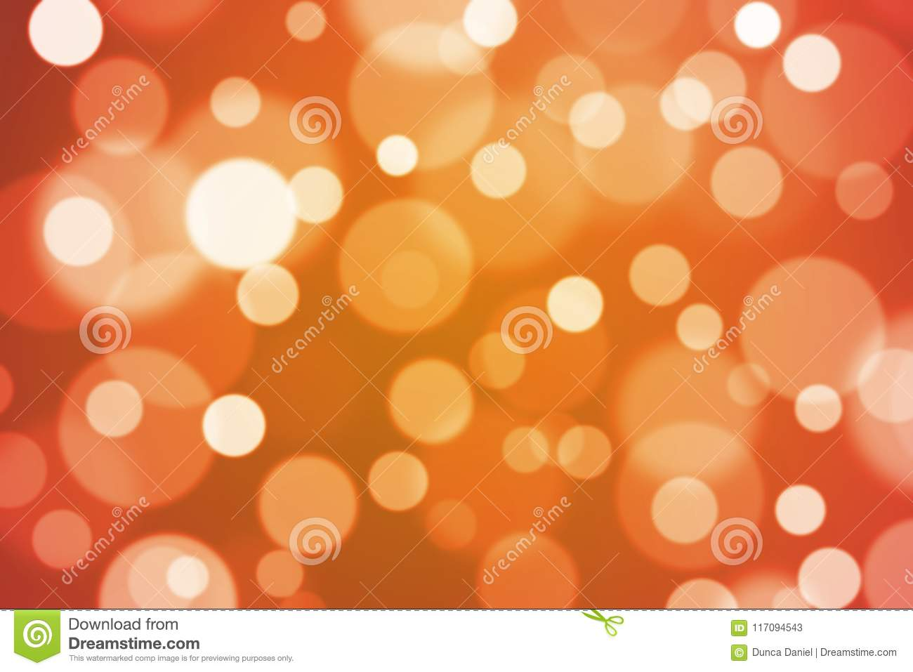 Bright colorful bokeh lights blur abstract background