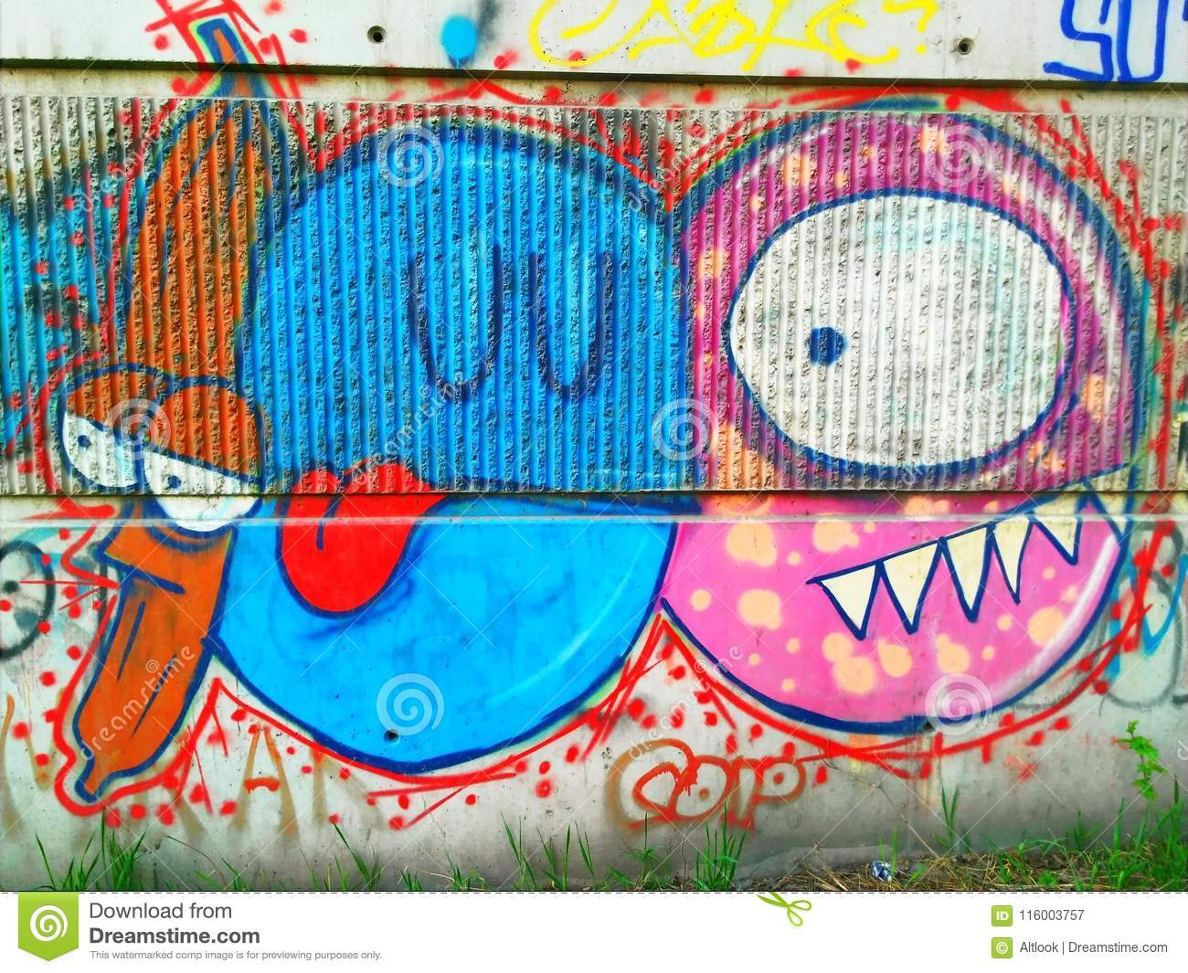 Graffiti About Love And Betrayal Editorial Photography Image Of