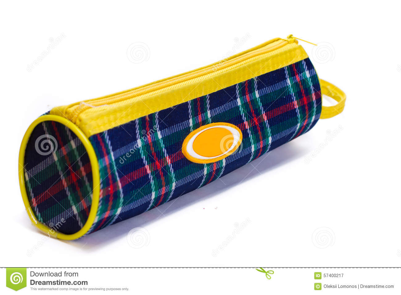 Download Bright Colorful Pencil Case Stock Image - Image of colorful, background: 57400217