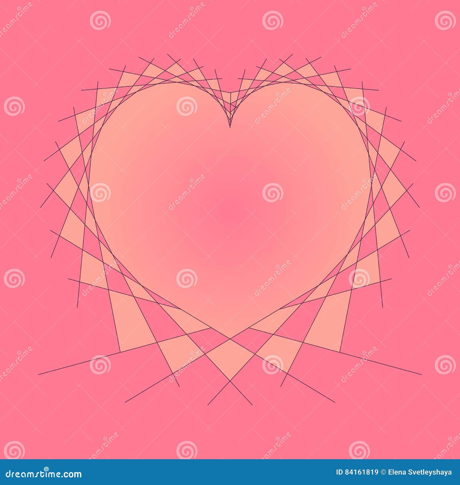 String Art Heart Design