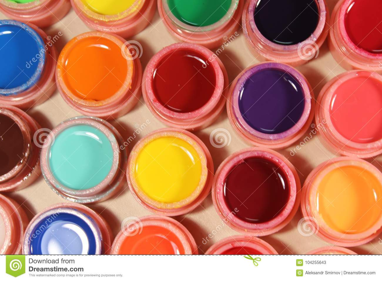 Bright Colors For Nails, Many Colors Stock Image - Image of polish ...