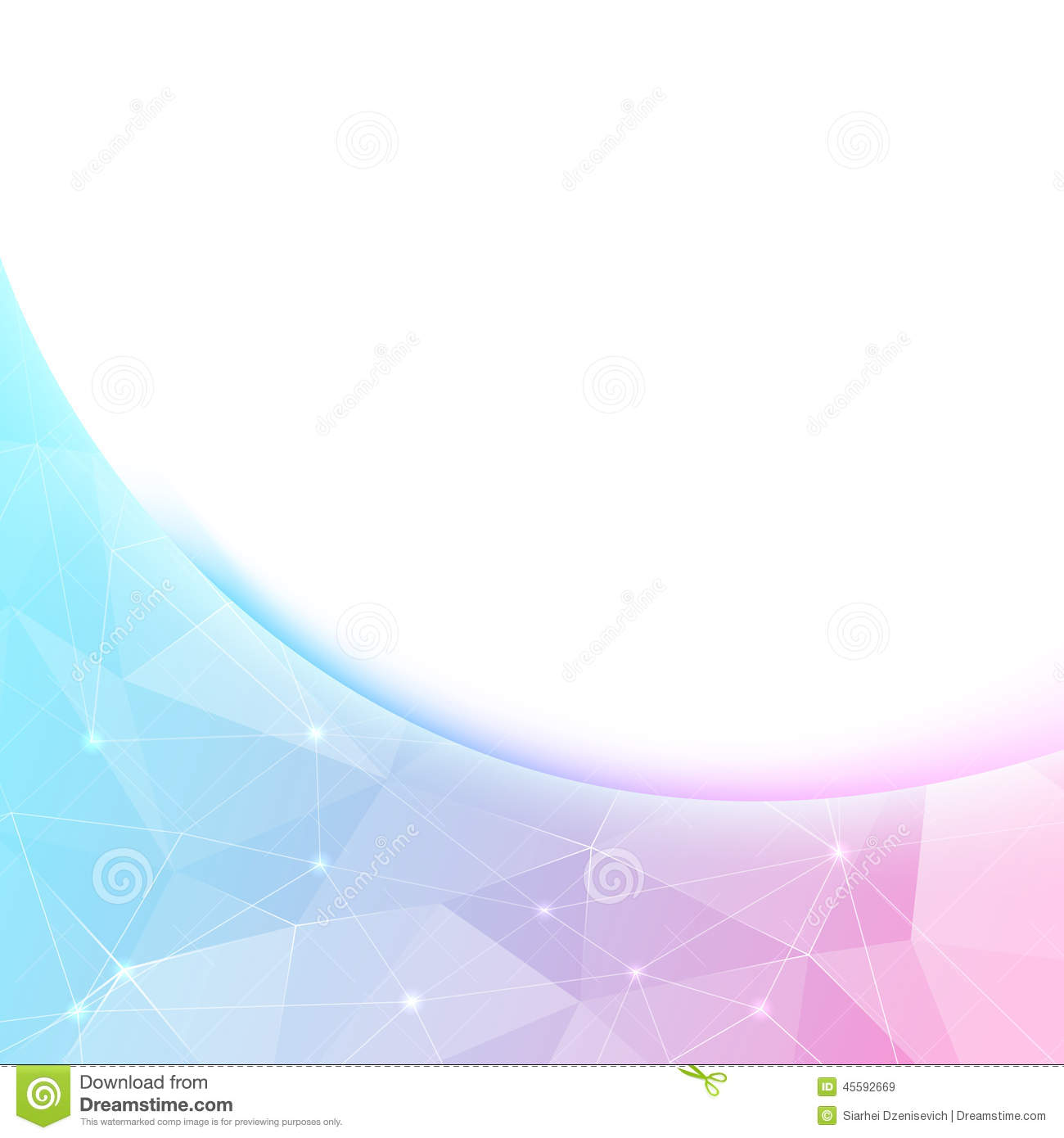 bright crystal shine border background template stock vector