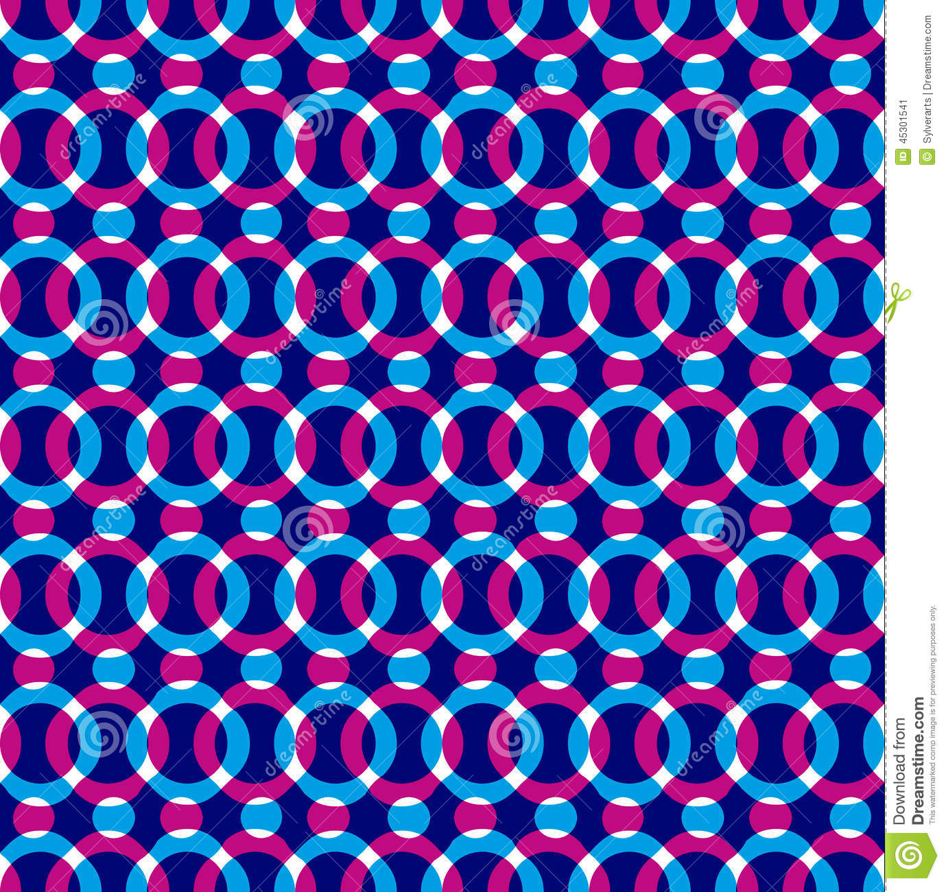 Red Book Cover Pattern : Bright dotted seamless pattern red and blue circles stock