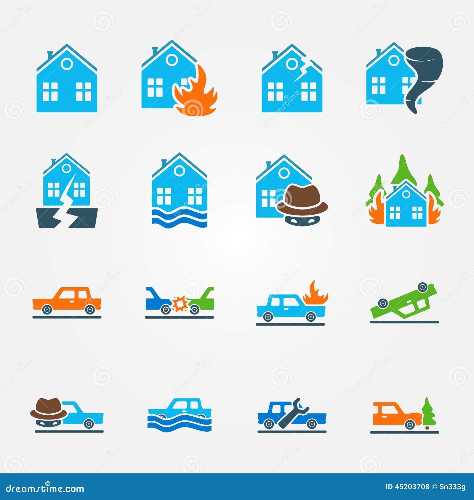 Money Natural Disasters Symbols
