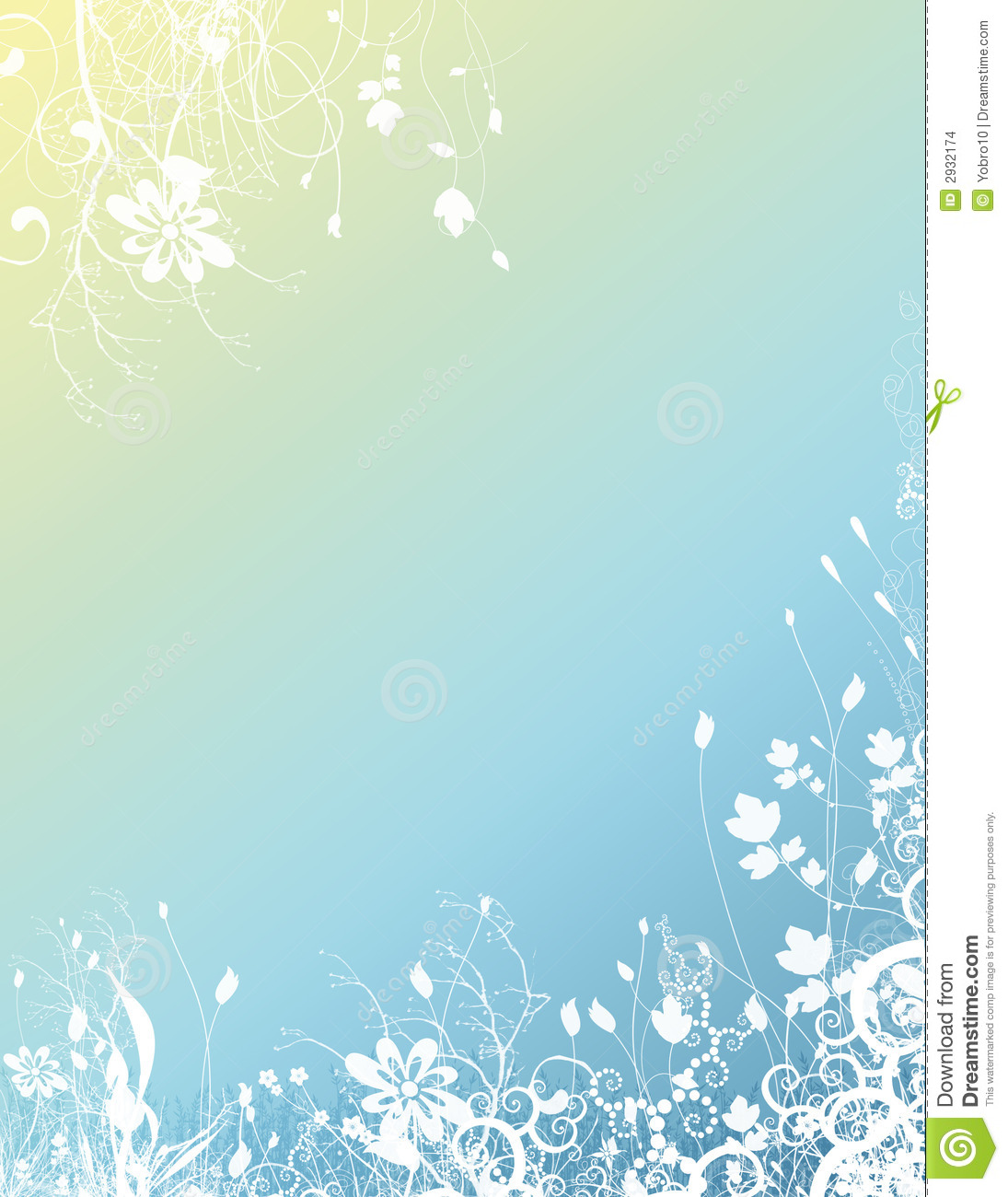 Bright Floral Background Stock Images Image 2932174