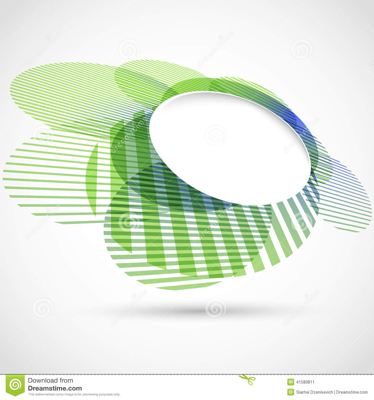 bright green round advertisement template stock vector image bright green round advertisement template