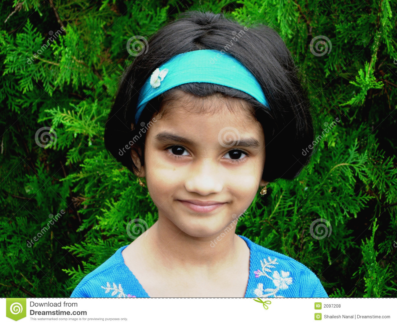 Simple Indian Girl Stock Photos - Royalty Free Pictures