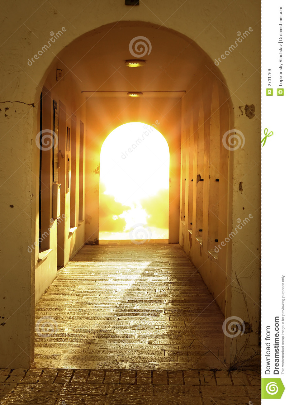 bright light in door stock image image of peace praying