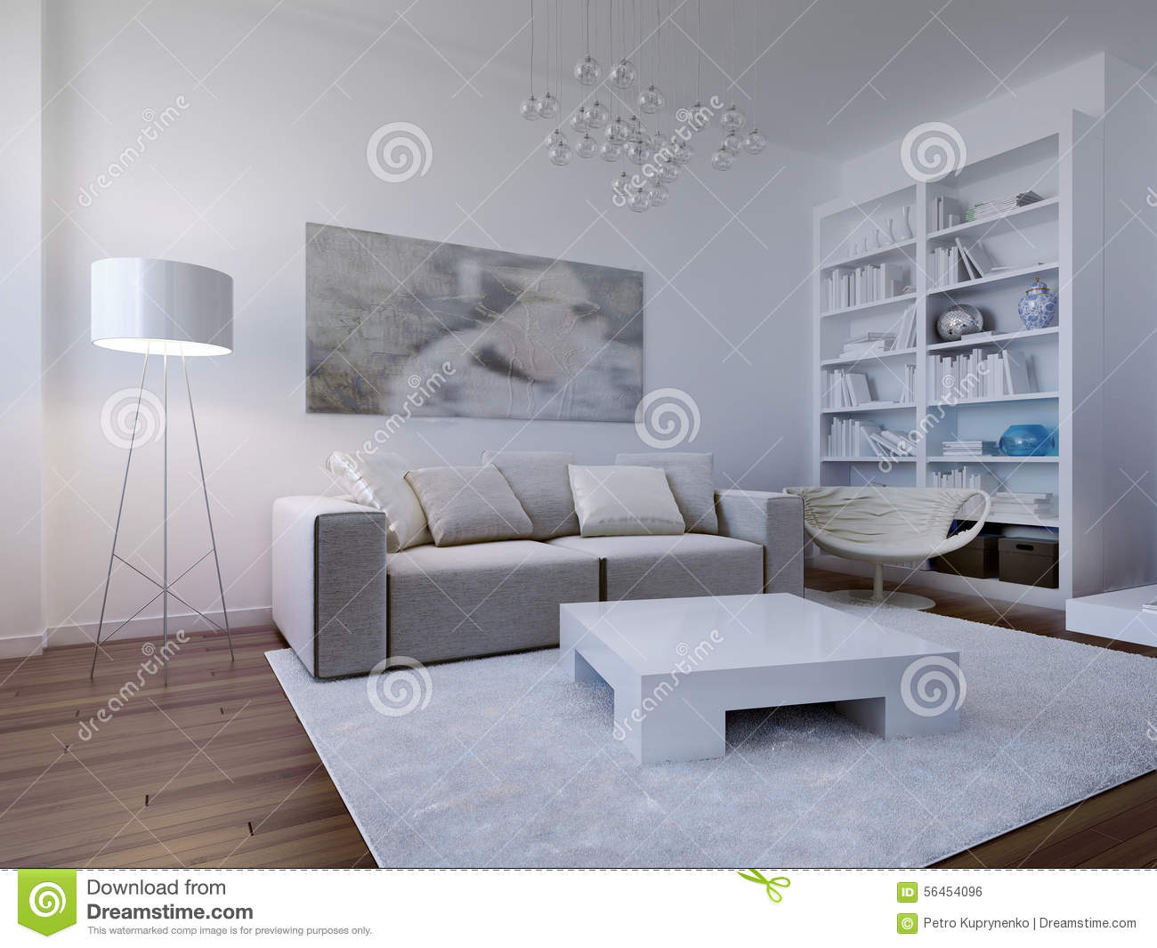 Bright living room design stock photo image of cloth for Bright living room ideas