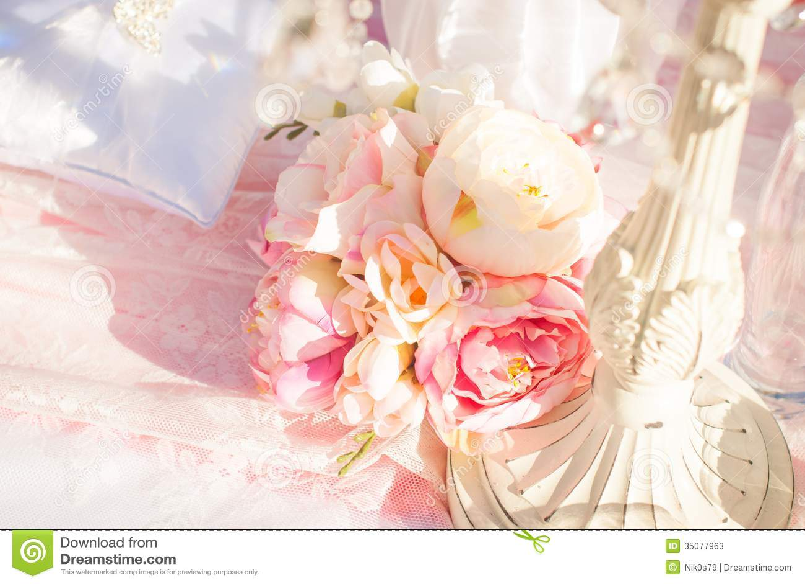 Bright Luxury Wedding Flowers Background Stock Image - Image of ...
