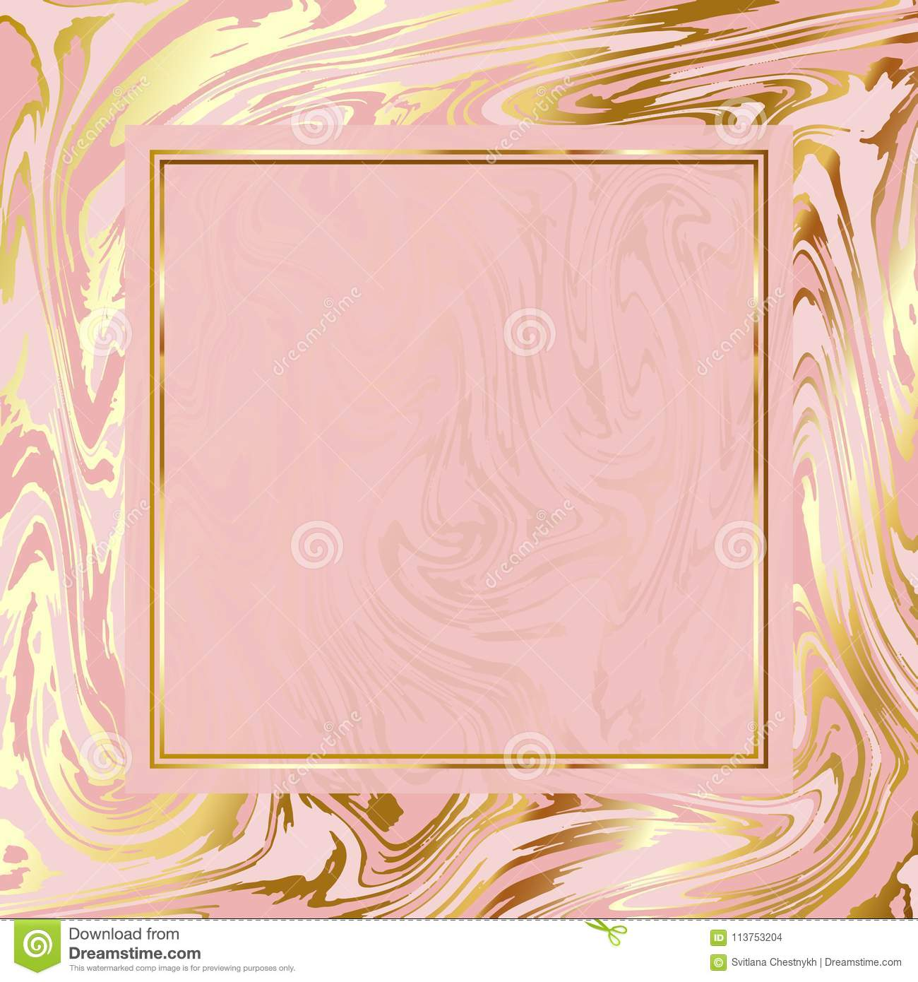 Bright Marble Paper Vector Texture Imitation Pale Rose Pink And