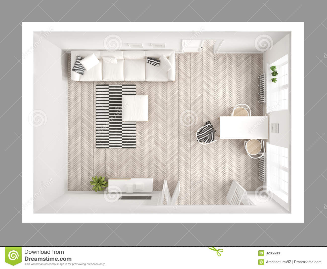 Living Room Top View Stock Illustrations – 10,10 Living Room Top