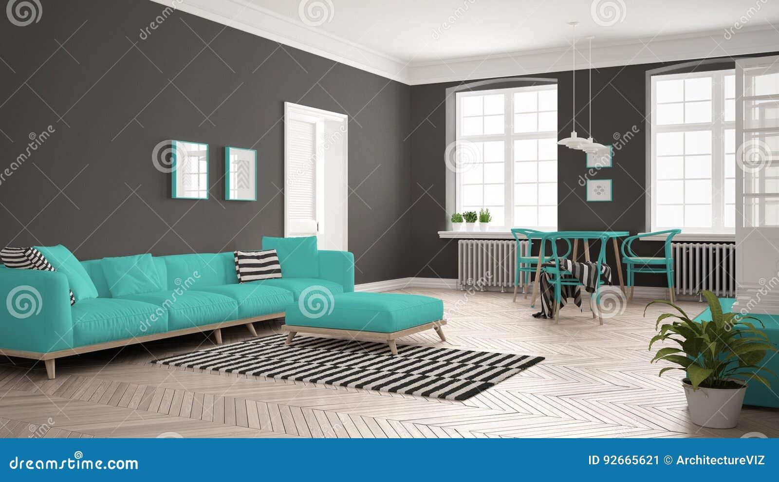 Blickfang Sofa Scandi Sammlung Von Pattern Bright Minimalist Living Room With And