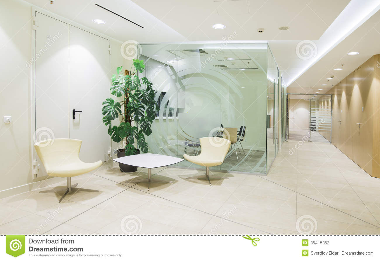 bright minimalistic office interior stock photography bright office