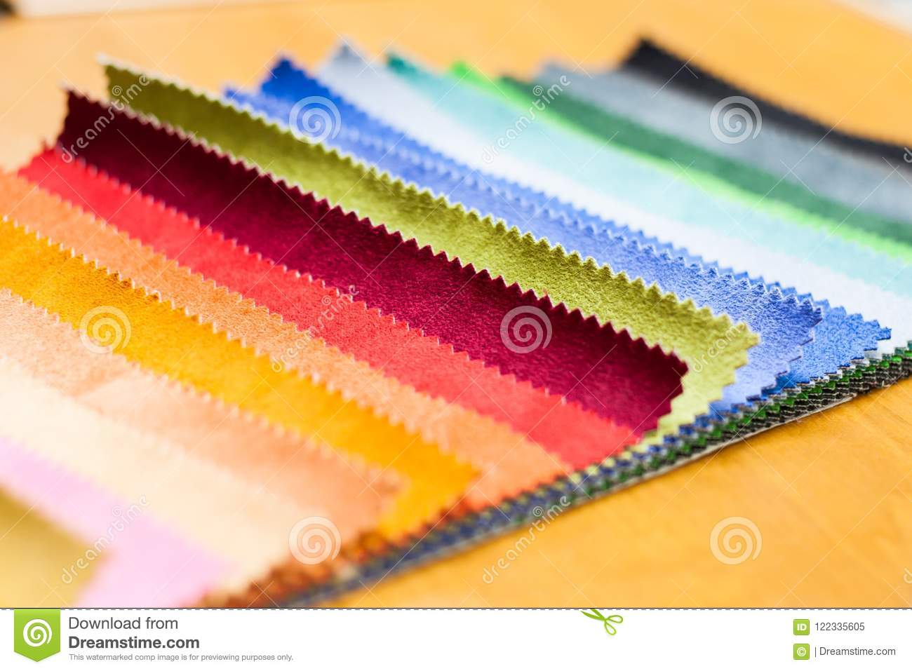 Color Design Selection For Interior Stock Image