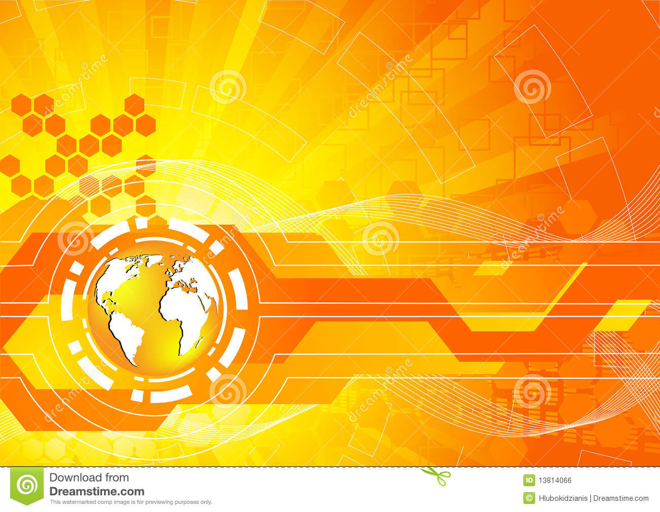 Bright Orange Background Royalty Free Stock Image - Image: 13814066