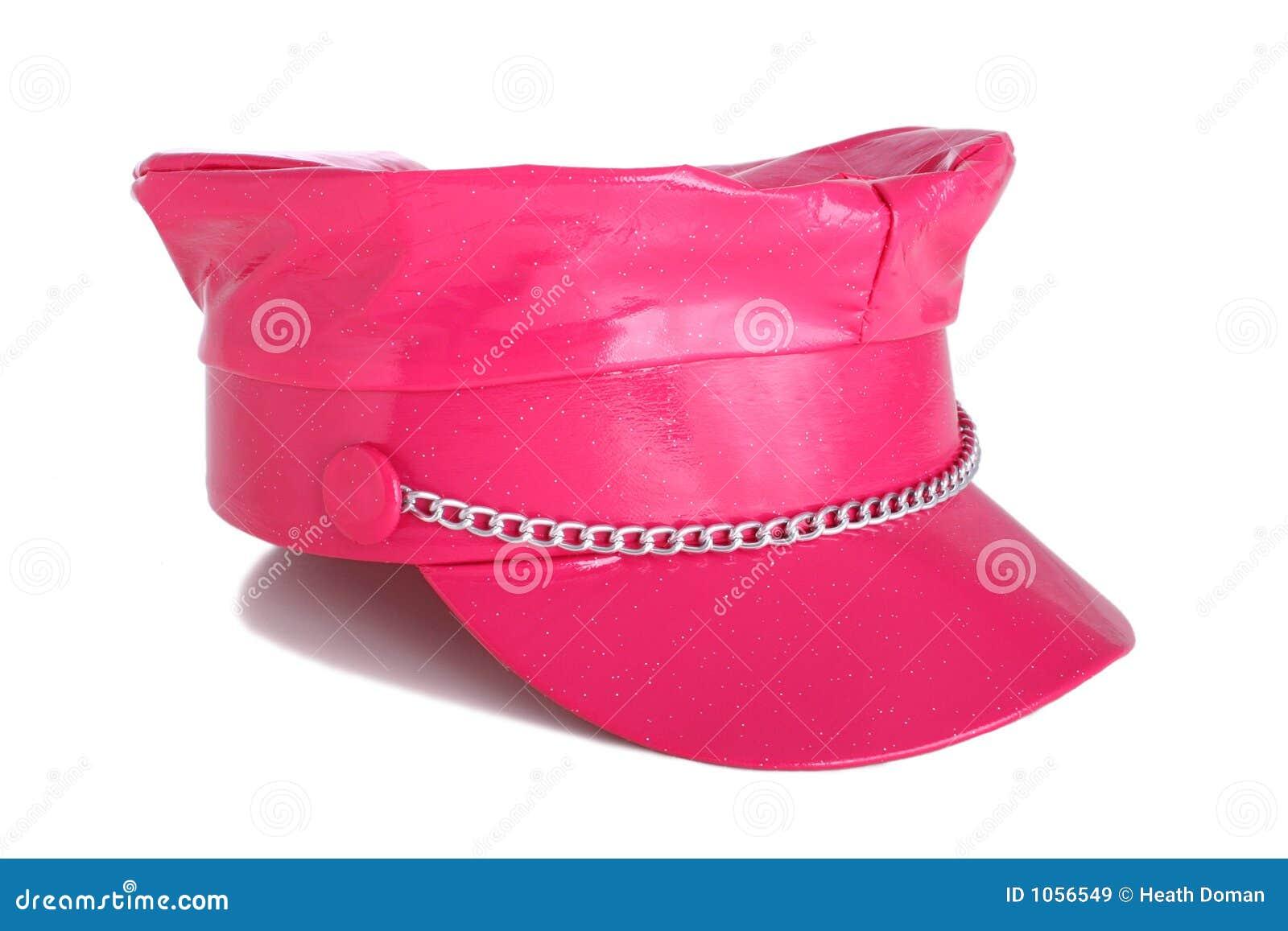 Bright Pink Hat Stock Image Image Of Vibrant, Head, Ladies - 1056549-6687