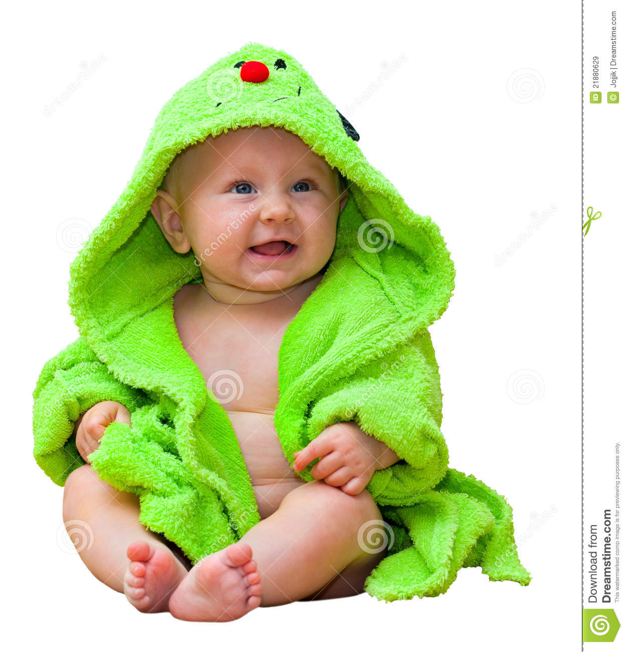 cf9e9bf9fb31 Bright Portrait Of A Cheerful Baby Stock Image - Image of cutout ...