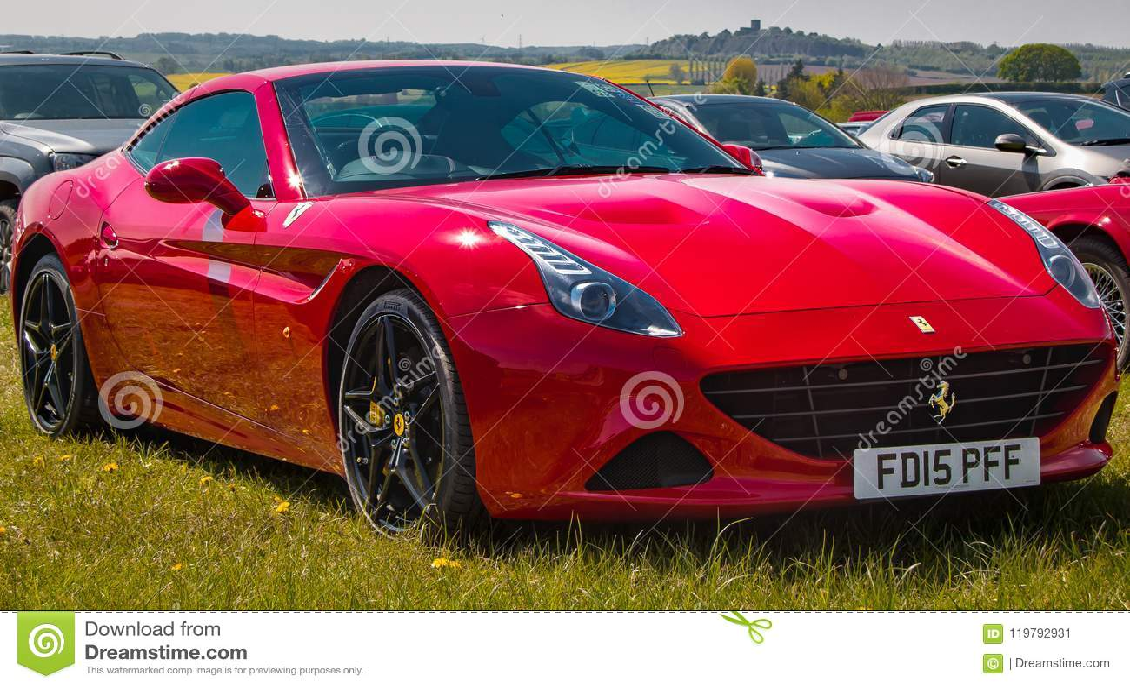 Red Ferrari California T Editorial Photo Image Of Automotive 119792931