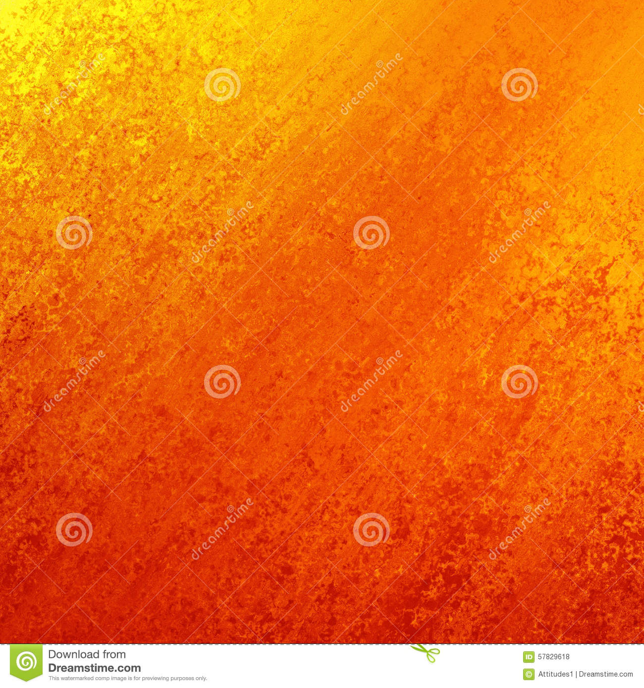 bright red orange and yellow gold background with angled sponged