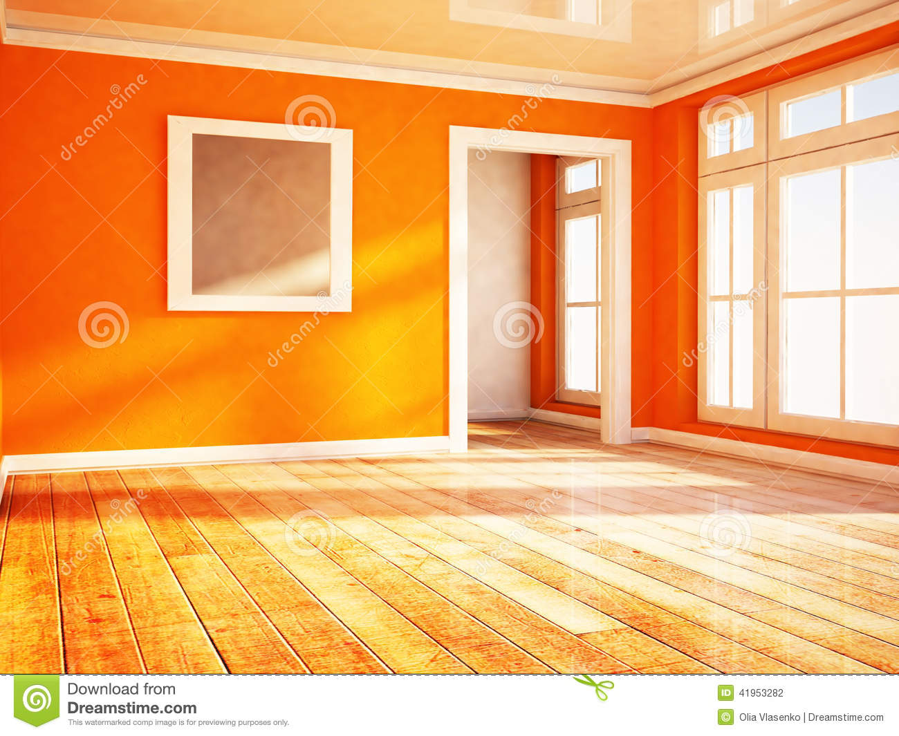 Bright room with the window