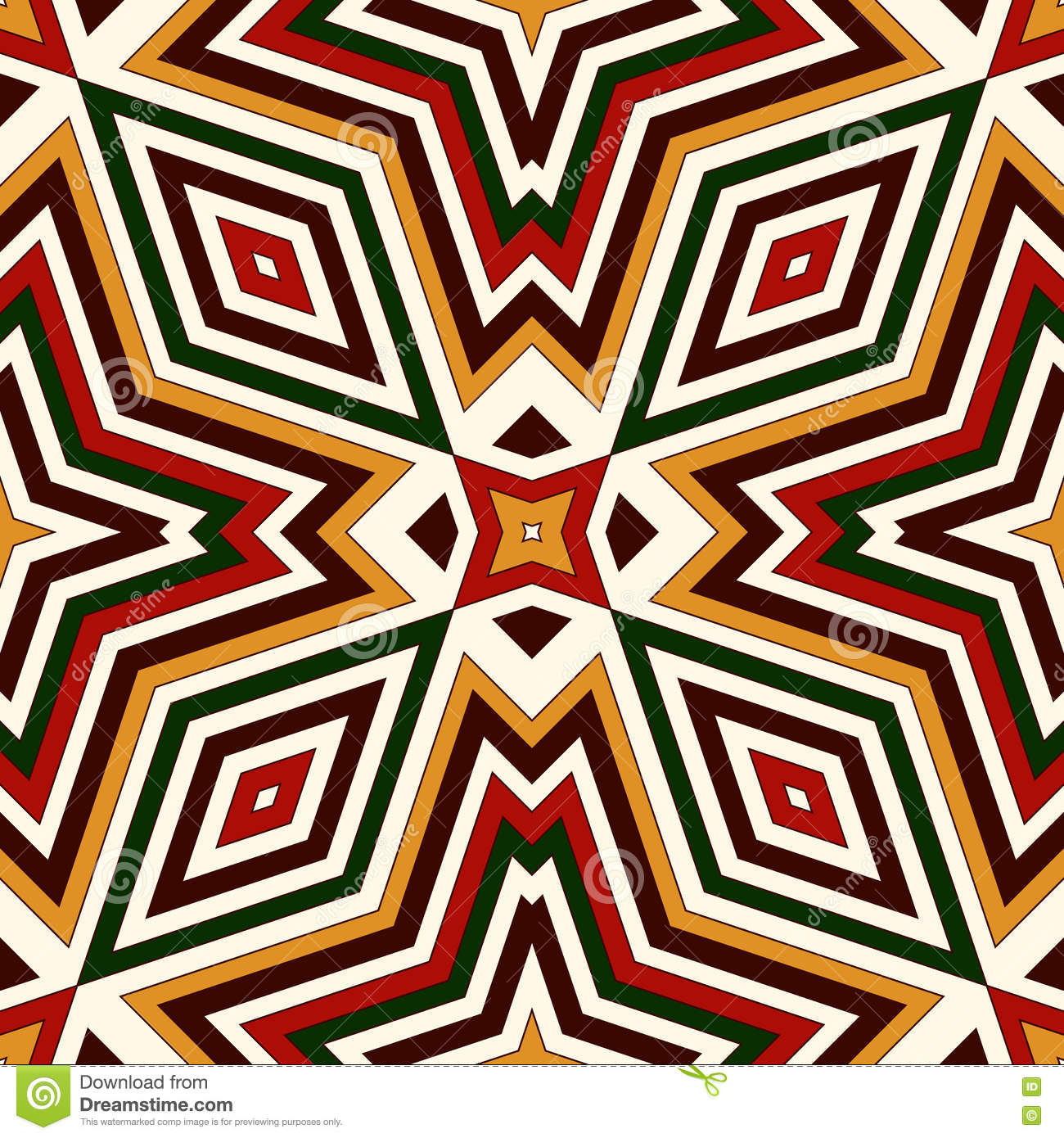 seamless pattern in christmas traditional colors bright ornamental abstract background ethnic. Black Bedroom Furniture Sets. Home Design Ideas