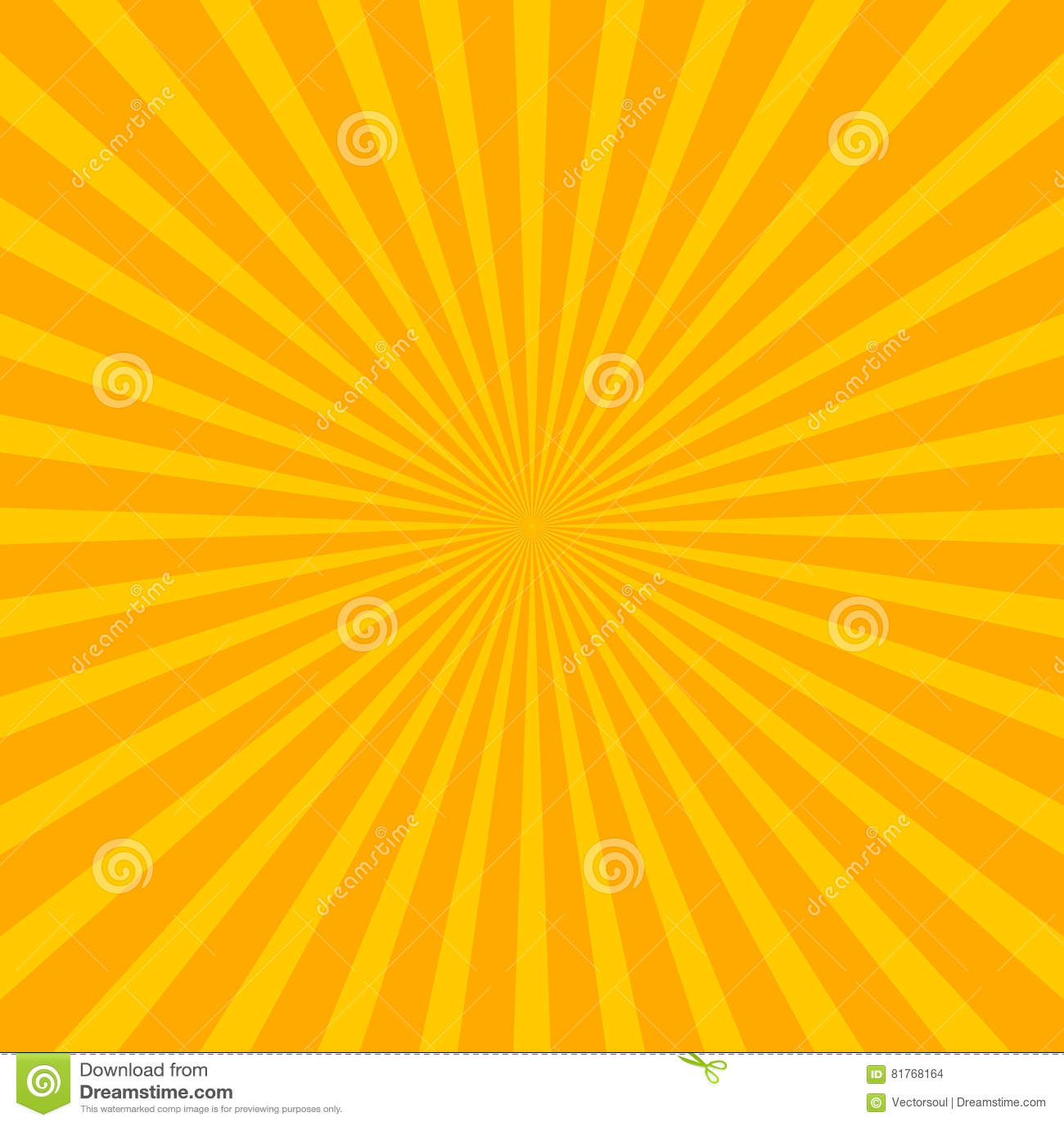 Download Bright Starburst Sunburst Background With Regular Radiating Li Stock Vector - Illustration of illustration, centre: 81768164