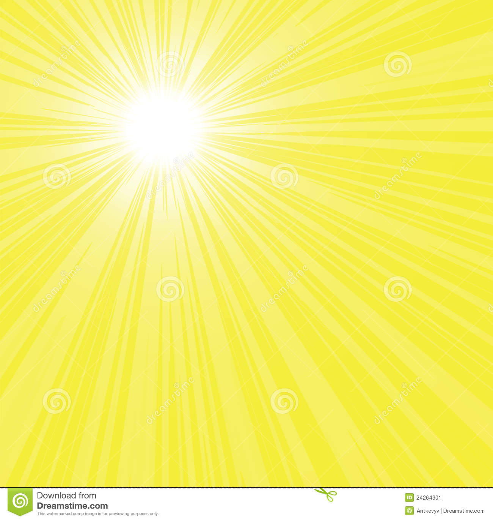 yellow rays vector - photo #44