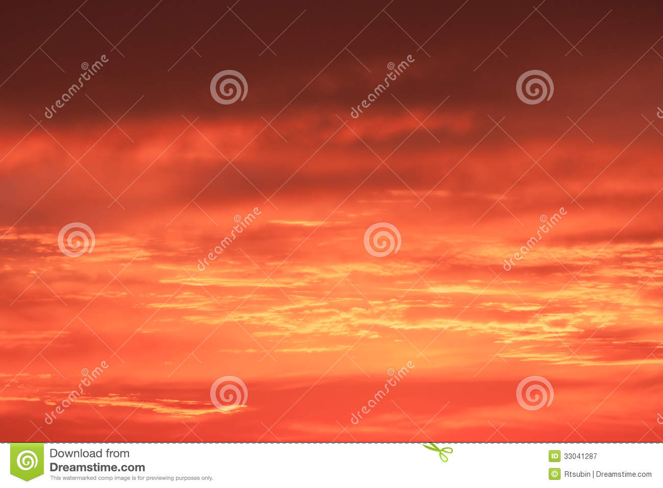 Bright vibrant orange and yellow colors sunset sky royalty for Bright vibrant colors