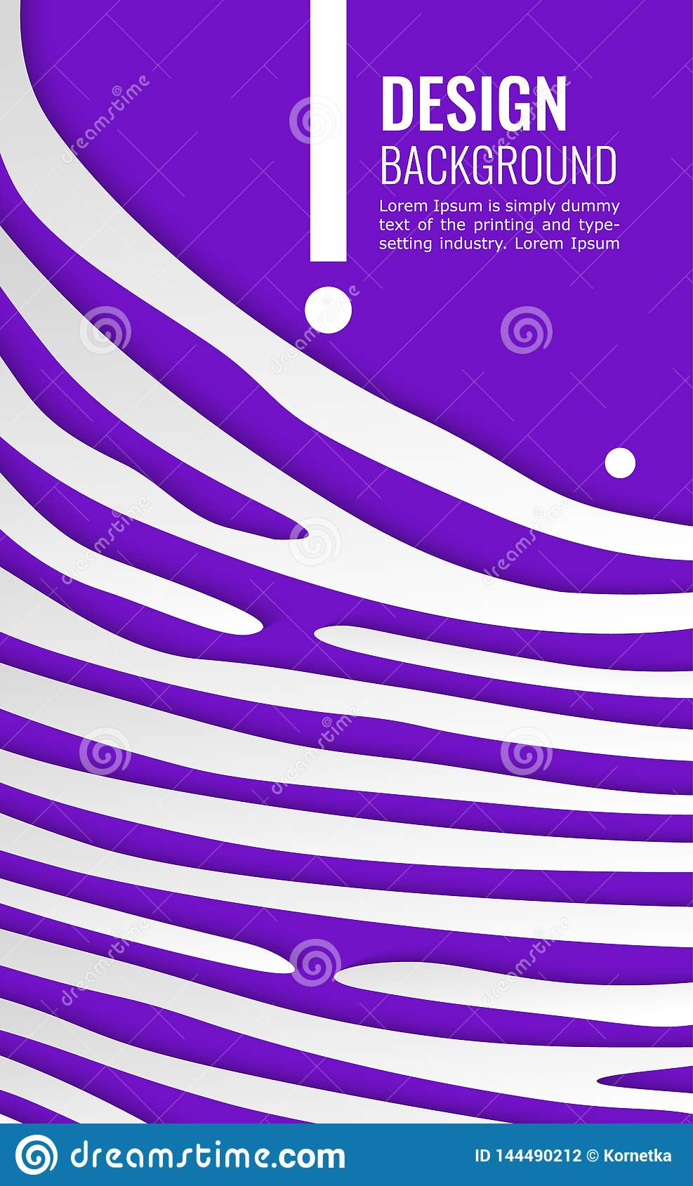 bright violet vertical abstract background white paper