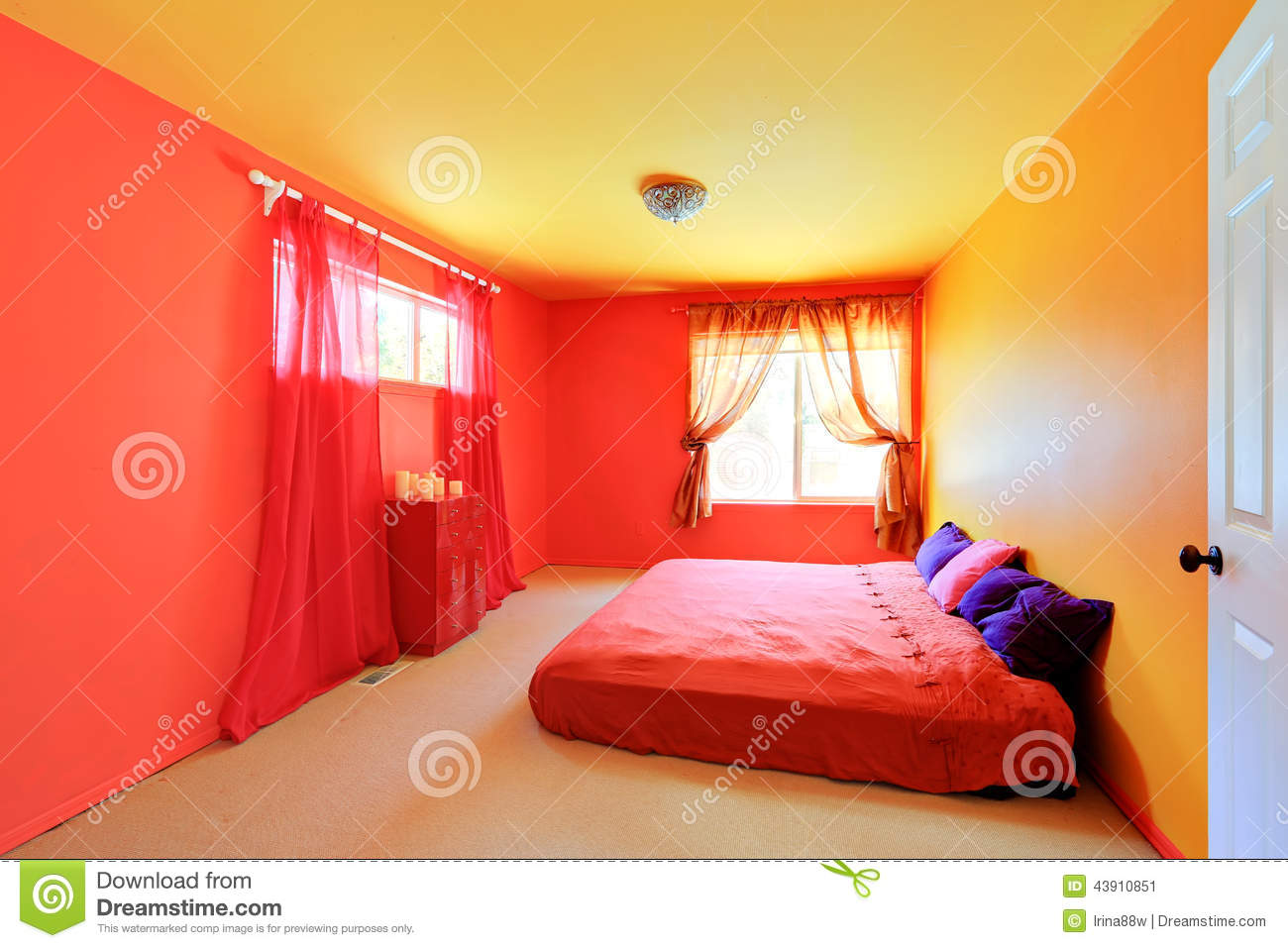 bright neon colors for bedrooms submited images