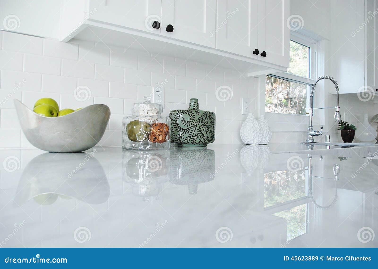 Glass countertops bathroom - Kitchen Counter Stock Photo Image 45623889