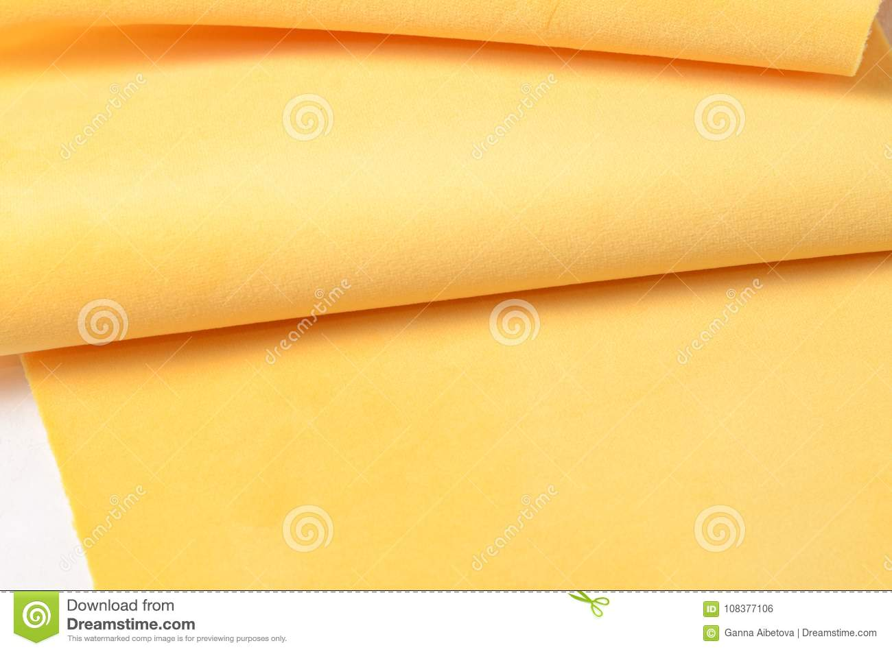 Bright Yellow Velour Textile. Fabric Texture Background Stock Photo - Image of decoration, linen ...