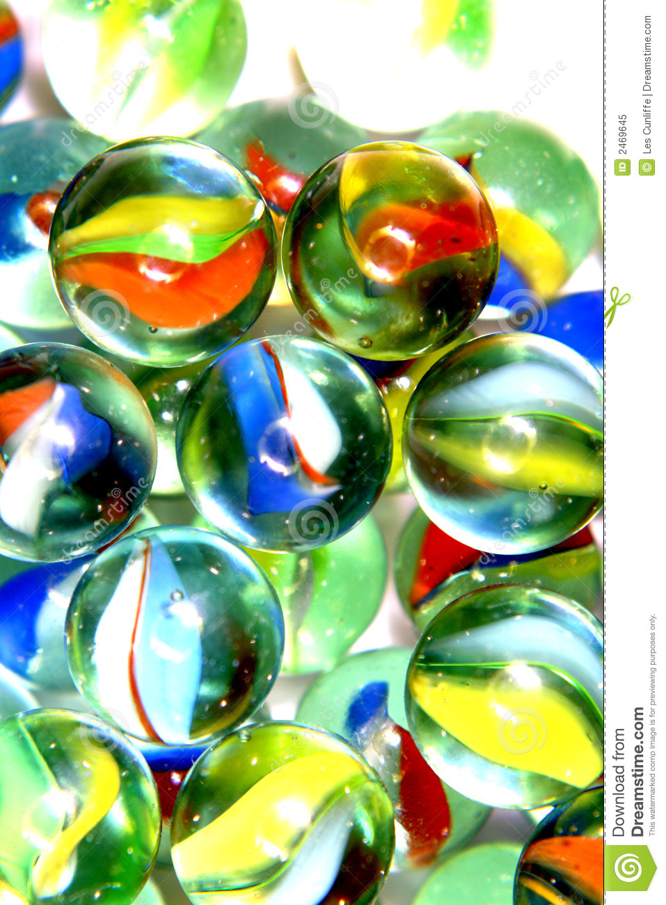 Bright Colored Marbles : Brightly colored marbles stock image of colorful