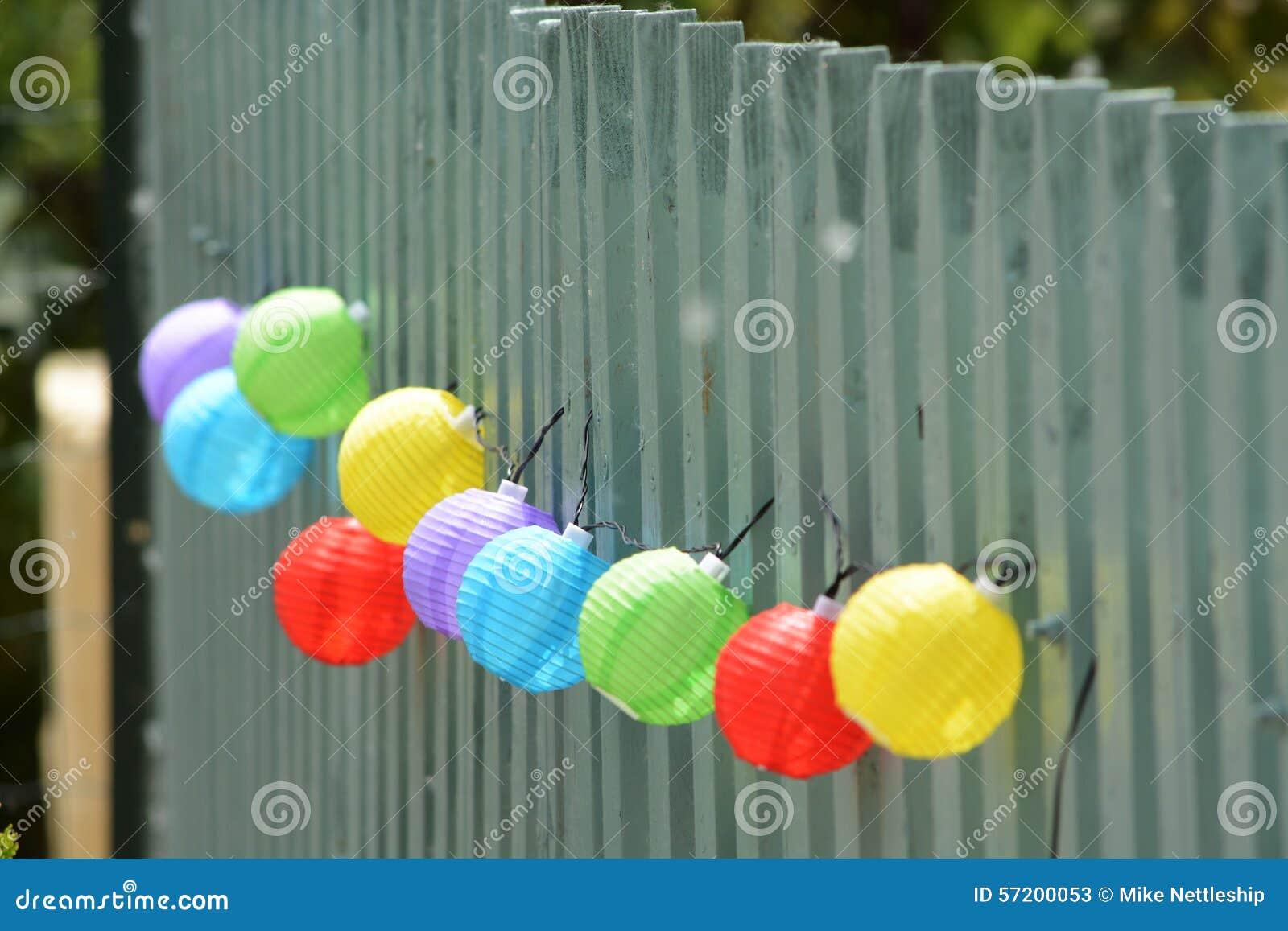 Decorative Coloured Glass Balls