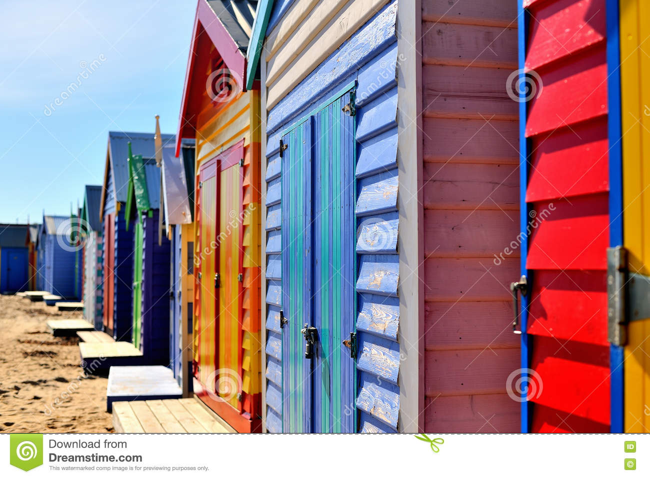 Brighton Bathing Boxes Beach Houses