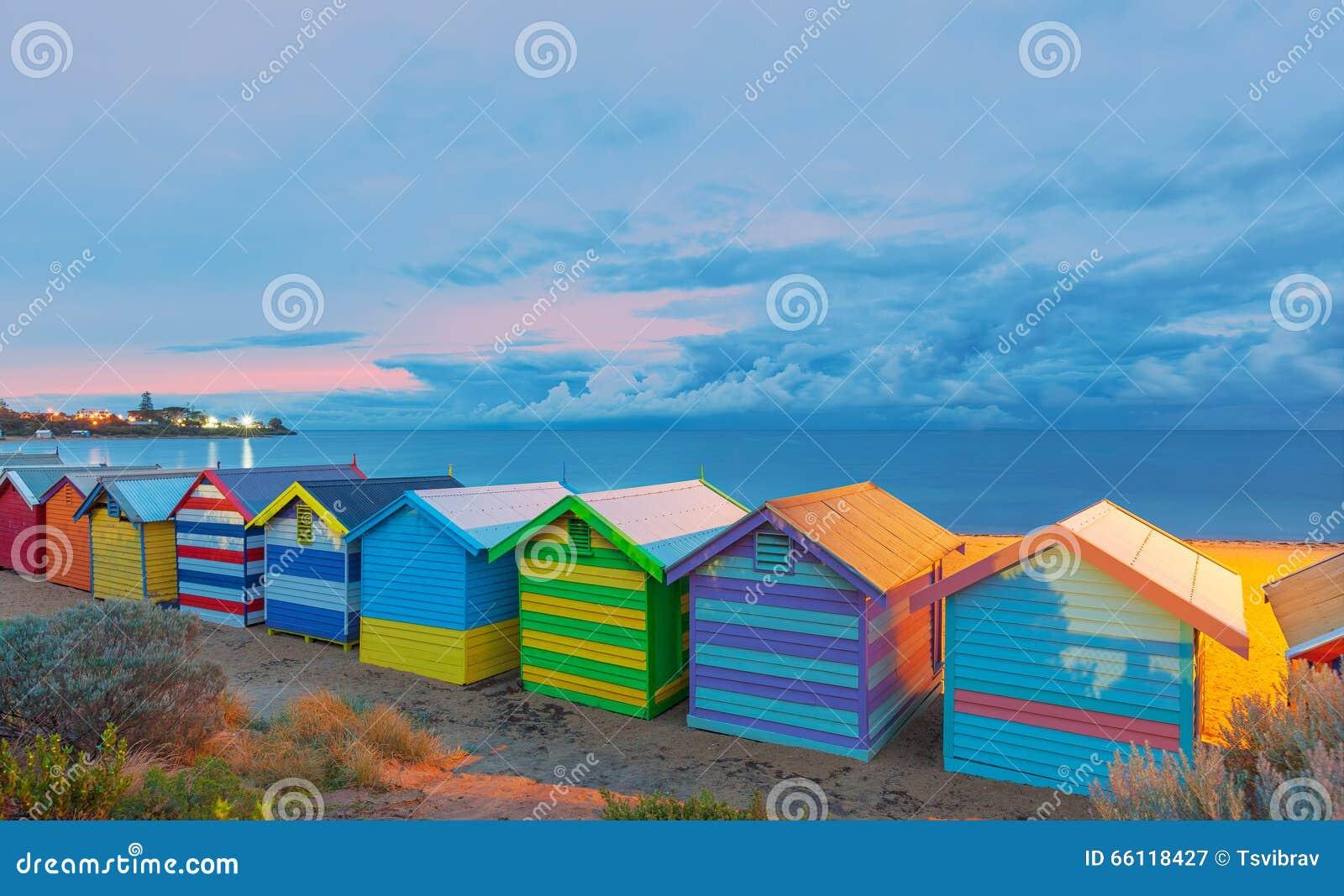 Brighton beach houses Australia
