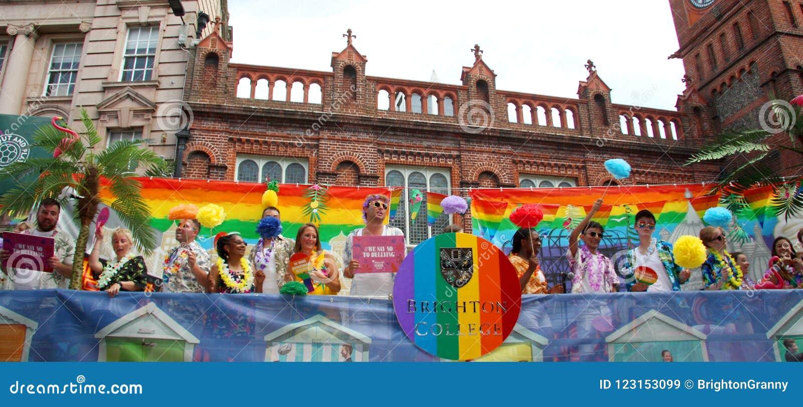 Brighton College Pride Supporters
